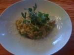 Pea And Bacon Risotto
