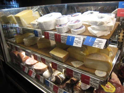 Meats, cheeses