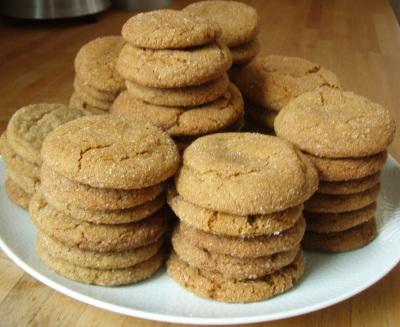 Worlds Best Molasses Cookies